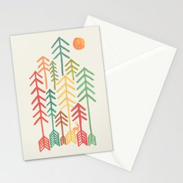 Arrow forest Stationery Cards