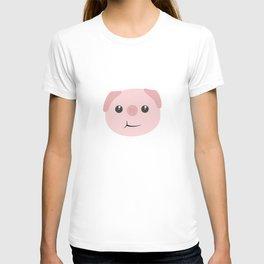 Cute chewing kawaii piggy T-shirt