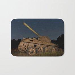 Un Panzer d'Étoiles Filantes // A Panzer Shooting Stars Bath Mat