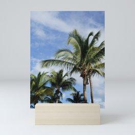 Palms in Puerto Rico Mini Art Print
