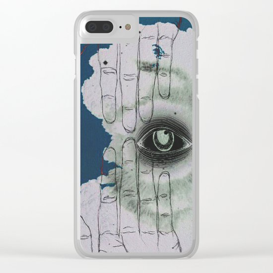 Clairvoyance Clear iPhone Case
