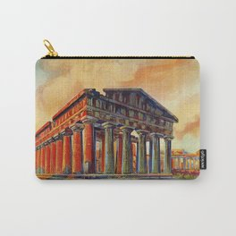 Paestum ancient Greek temple Carry-All Pouch
