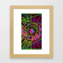 ParticleCollider A Framed Art Print