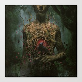 Dark Messenger Canvas Print