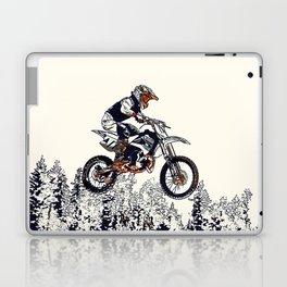 """High Flyer"" Motocross Racer Laptop & iPad Skin"