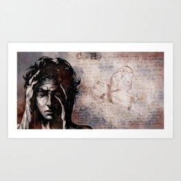 """""""CH"""" Cluster Headache Art Print"""