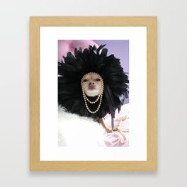 Chihuahua Vogue  Framed Art Print