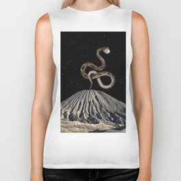 Reach for the moon Biker Tank