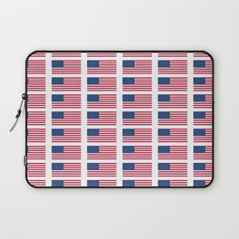 american flag 2-Usa,america,us,stars and strips, patriotic,patriot,united states,american,spangled Laptop Sleeve