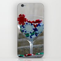 poker iPhone & iPod Skins featuring Poker by smittykitty