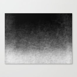 B&W Cloud Atmosphere Canvas Print