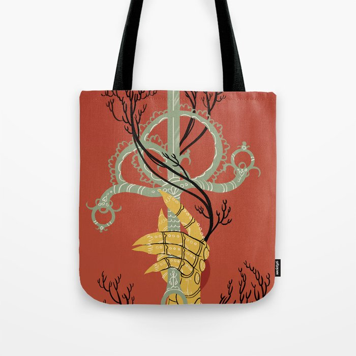 Ace of Swords Tote Bag