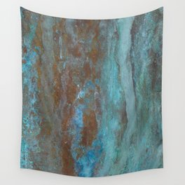 Patina Bronze rustic decor Wall Tapestry