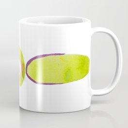 Green Stacked Stones Vertical 2 Coffee Mug