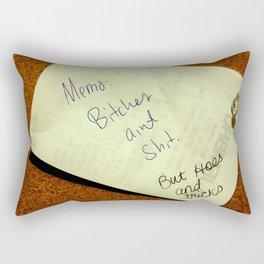 MEMO: Rectangular Pillow