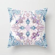 Wonderland in Winter Throw Pillow