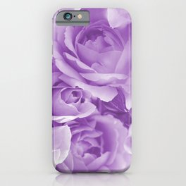 Violet Rose Bouquet For You - Valentine's Day #decor #society6 #buyart iPhone Case