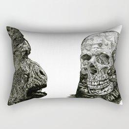 Alas, poor Yorick!  Rectangular Pillow