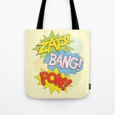 Zap! Bang! Pow! Tote Bag