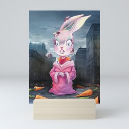 The Rabbit Mini Art Print