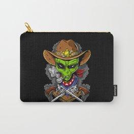 Cowboy Alien Carry-All Pouch
