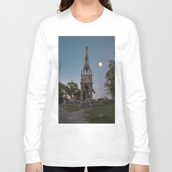 Cemetery Monument Long Sleeve T-shirt