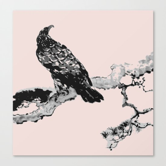 Soaring eagle Canvas Print