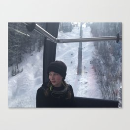 Gondola Ride Up Keystone Canvas Print