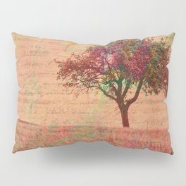 The Kissing Tree, Landscape Art Pillow Sham