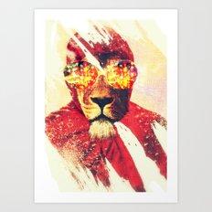 Lion Zion Art Print