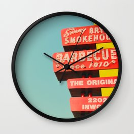 Sonny Bryan's Smokehouse Wall Clock