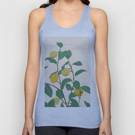 Lemon Unisex Tank Top