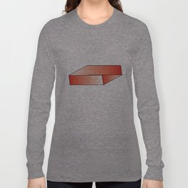 Red Illusion Long Sleeve T-shirt