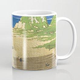 Kawase Hasui, Mera In Boshu - Vintage Japanese Ukiyo-e Woodblock Print Coffee Mug