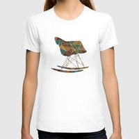 eames T-shirts featuring Eames Rocker by Ruby