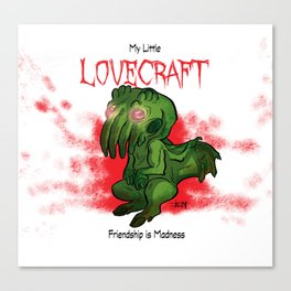My Little Lovecraft Canvas Print