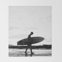 Surf Boy Throw Blanket