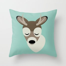 Hert Throw Pillow
