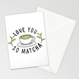 Matcha Love Stationery Cards