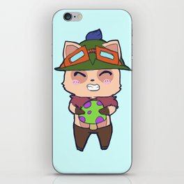 Cute Teemo design iPhone Skin