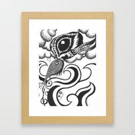 Two Elements Framed Art Print