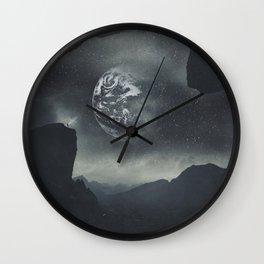 Dream Orbit II Wall Clock