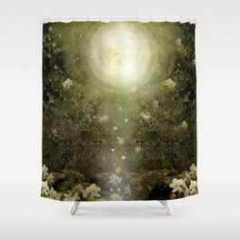 The Great Lie, Forest Shower Curtain