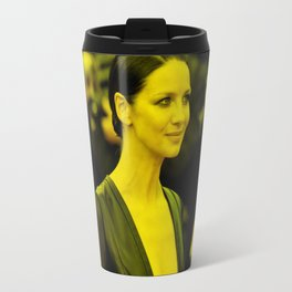 Caitriona Balfe - Celebrity (Florescent Color Technique) Travel Mug