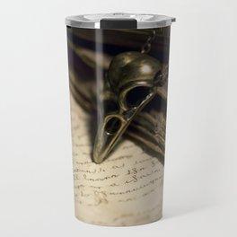 Still life with skull pendant Travel Mug
