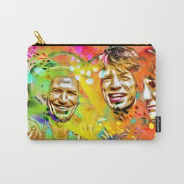 The Stones Pop Art Painting Carry-All Pouch