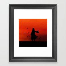 uciha Framed Art Print