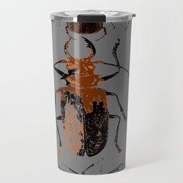 NATURE LOVERS BEETLE BUG COLLECTION ART Travel Mug