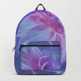 Abstract Dahlia fractal Backpack