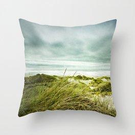 Seashore Longing Throw Pillow